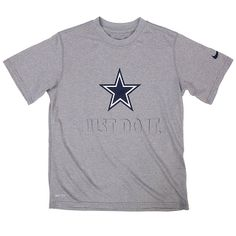 NFL Dallas Cowboys Nike Youth Legend Just Do It Team Tee on shop. dallascowboys. 93985225d