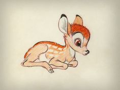 Bambi-I need to draw this