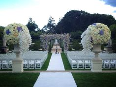The Ceremony Entrance at Oheka Castle