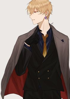 Hot Anime Boy, Anime Sexy, Anime Boys, M Anime, Manga Boy, Cute Anime Guys, Anime Art, Mafia Outfit, Gilgamesh And Enkidu