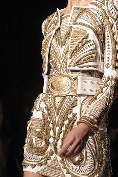 Balmain at Paris Fashion week Spring 2012  www.finditforweddings.com