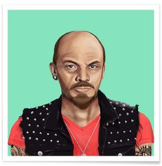 Lenin en Affiche premium par Amit Shimoni Illustration | JUNIQE
