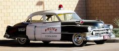 1951 Cadillac patrol car. Still used for parades and special events. Coolidge Arizona....