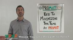 "#MaterialHandling ProMat 2015: Keys to Maximizing Your Time at ProMat via our video mini-series ""Would You Like Fries with That"" featuring Joshua Smith and Linda Anlauf.  At WPRP Our Goal is to Help You and in this video Josh will discuss how to get the most out of your ProMat 2015 experience! http://www.wprpwholesalepalletrack.com"
