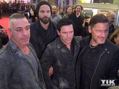 """Rammstein - Berlin 2015 """"Rammstein in Amerika"""" Premiere. #Rammstein #TillLindemann #RichardKruspe #ChristophSchneider #OliverRiedel"""