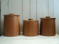 Modern Kitchen Jars pottery canisters, canister set, flour canister, sugar canister
