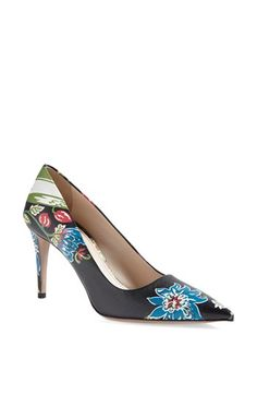 Gorgeous printed shoes for Spring 2014:  Prada Pointy Toe Pump | Nordstrom