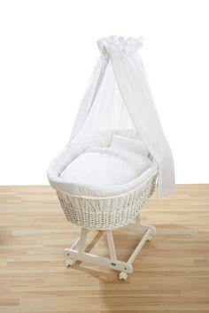 Wiegbekleding : Wieg Bekleding XL Wit Hello Baby