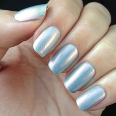 Orly 'Sky Blue-Pink.' It shimmers pink and gold in different lights and is actually quite nice. That is all. #Padgram