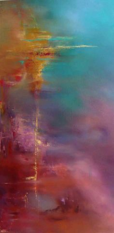 Beautiful Abstract - Dallas artist                                                                                                                                                      More