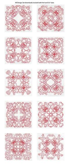 machine embroidery projects | FREE MACHINE EMBROIDERY QUILT BLOCK « EMBROIDERY & ORIGAMI