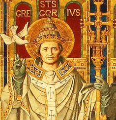 Het herstel van de Latijnse kerk begint met het pausschap van Gregorius I de grote. De heilige Gregorius was paus van 590 tot zijn dood in 604. Hij zorgde ervoor dat het missiewerk in Noord-Europa op gang kwam. In 596, stuurt hij Augustinus op een missie naar Engeland. Hij wordt de eerste aartsbisschop van Canterbury.