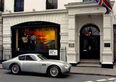1961 Aston Martin DB4 GT Zagato.