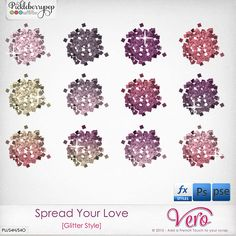 Spread Your Love [Glitter Style] by Vero