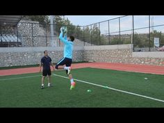 Basic drills of pre-season goalkeeper training 1 Soccer Passing Drills, Soccer Training Drills, Goalkeeper Training, Soccer Workouts, Football Drills, Soccer Coaching, Volleyball Tips, Soccer Tips, Soccer Games