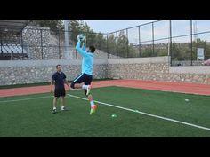 Basic drills of pre-season goalkeeper training 1 Soccer Passing Drills, Soccer Training Drills, Goalkeeper Training, Soccer Workouts, Football Drills, Soccer Coaching, Soccer Tips, Soccer Games, Soccer Goalie