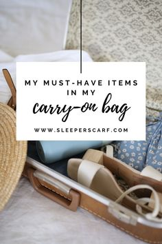 Carry-on packing list Carry On Essentials, Carry On Packing, Packing Tips For Vacation, Travel Packing, Packing Lists, Long Flight Tips, Pack Your Bags, Must Have Items, Business Travel