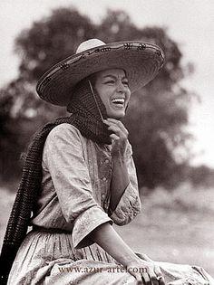 Mexican Actress Maria Felix.