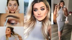 Wedding Guest MAKE UP, HAIR & OUTFIT! | Rachel Leary