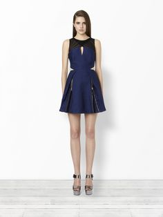 Three Floor - COVETED navy cutout dress