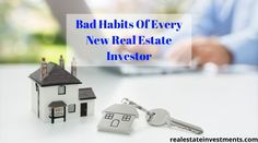 "Hire a good residential/commercial real estate investing USA based company and work along with them per how the market is ""right now"" and not how it used to be. Best Real Estate Investments, Commercial Real Estate Investing, Real Estate Investment Companies, Real Estate Investor, Real Estate Leads, Real Estate Tips, Bad Habits, Rental Property, Being A Landlord"