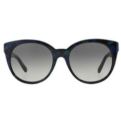 Versace Women's VE4286 Plastic Round Sunglasses (255 AUD) ❤ liked on Polyvore featuring accessories, eyewear, sunglasses, versace, versace eyewear, plastic sunglasses, versace glasses and plastic glasses