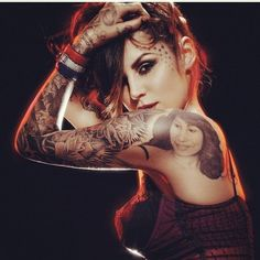 I dream to someday get to meet Kat Von D. Maybe even get a tattoo done by her. #tattoo