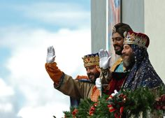 On January 6th we celebrate three kings day