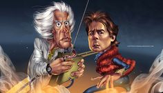 Surpreendentes Ilustrações de Personagens de Filmes Famosos criadas pelo talentoso ilustrador Manuel Morgado