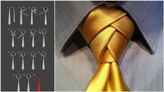 9 Ways to Transform a Tie into a Stunning Knot!  (And some nifty shoelace tying styles, too)