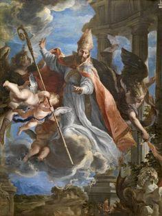 El triunfo de San Agustín, Claudio Coello - 1664 (Museo del Prado)