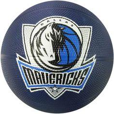 Spalding 65-537E Dallas Mavericks Mini Rubber NBA Team Basketball