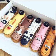 Glamour Eclair by . I am fan of their eclairs! Eclairs, Profiteroles, Crab Cakes, Cute Desserts, Dessert Recipes, Dessert Food, Recipes Dinner, Choux Pastry, Pastry Shop