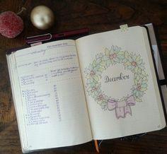 Hello December! #bulletjournal #bujo #planner