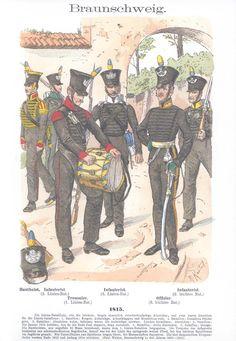 Band IV #53.- Braunschweig. Infanterie. 1815.