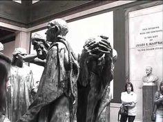 Rodin - The Burghers of Calais - Burlington County College Art Professor, Jayne Yantz, visits the Rodin Museum in Philadelphia. Video, 8:21.