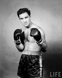 Rocky Marciano the greatest boxer ever ... My idol!