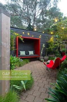 garden seating 10 Best Balcony Garden Designs and Ideas for 2019 Balcony garden ideas and balcony garden design tips In this article, you wil… Backyard Seating, Outdoor Seating Areas, Garden Seating, Backyard Landscaping, Back Gardens, Outdoor Gardens, Gazebos, Wall Seating, Outdoor Living