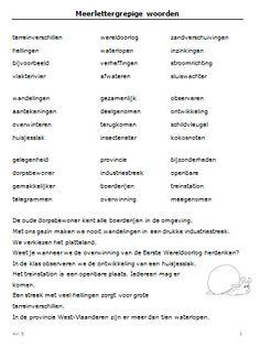 Leesfiches AVI 5 spelling, woordenschat