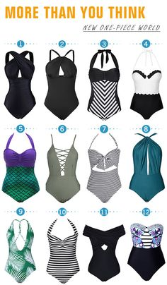Start from $16.99! Free Shipping! Pick up for next summer! When you walk on the beach, you must dream of amazing bathing suit that support you perfectly. Here we have saved all kinds of one-piece babies and they're really breathtaking! Join me together at