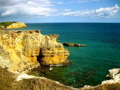 Next time we visit family in PR :)The Limestone Cliffs in Cabo Rojo, Puerto Rico.