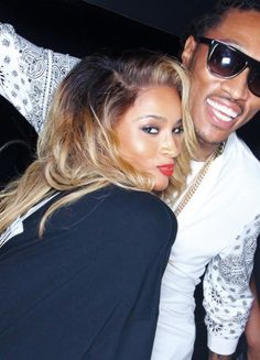 Ciara & future - love them!!  WHERE WE GO!