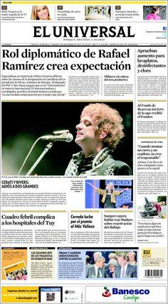 #DesayunoInformativo #Viernes #Titulares #Noticias #Portadas #PrimeraPagina 05/09/2014 @eluniversal