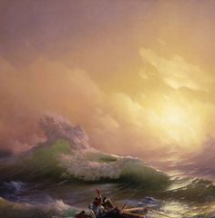 Ivan Aivazovsky, The Ninth Wave (detail) 1850