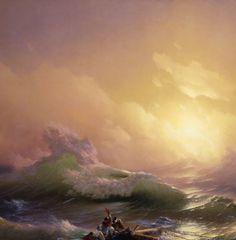 Ivan Aivazovsky, The Ninth Wave (detail)  1850
