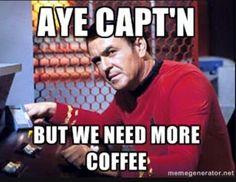 Coffee …