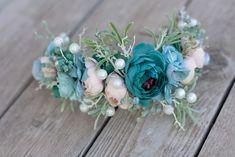 Wedding Hair Accessories – Flower headband, hairband – a unique product by evafleur on DaWanda