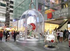 定時旋轉!全港首個「PANDORA巨型聖誕鐘」 | HK 港生活