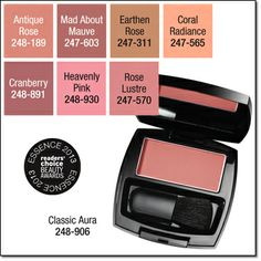 Ideal Luminous Blush Buildable color. Naturally luminous finish. .22 oz. net wt. Price: reg. $8.00 special $5.99  cheeks have a healthy, radiant glow with a flush of color.} www.youravon.com/denisearnold