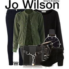 Inspired by Camilla Luddington as Jo Wilson on Grey's Anatomy.